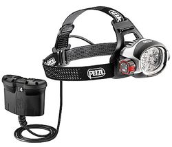 Petzl High Performance Headlamps petzl ultra rush belt